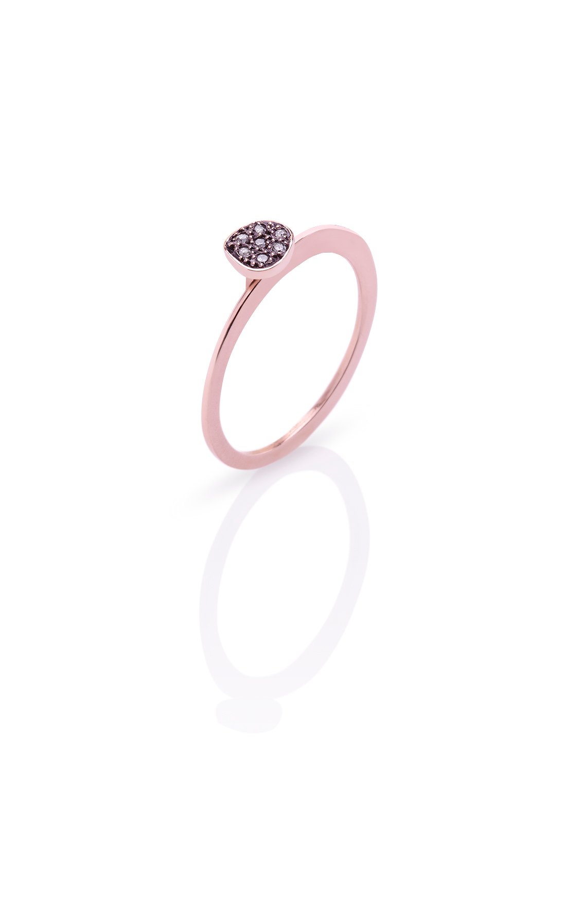 CER002 - Small Diamond Dot Ring