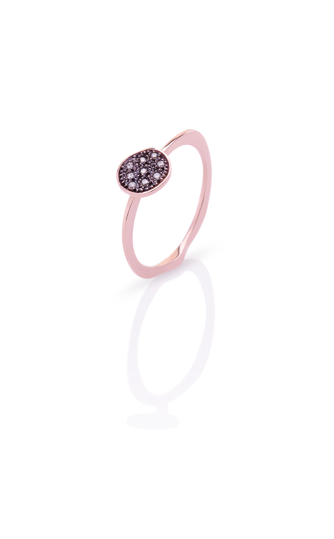 CER003 - Large Diamond Dot Ring