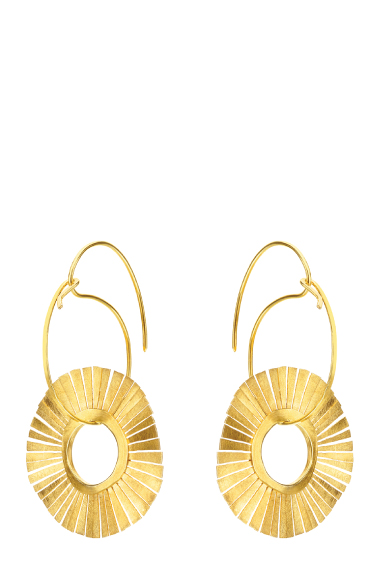 FRE006 - Fragments Sun Fringes Earrings