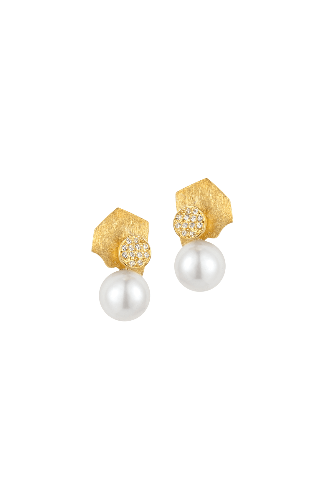 FRE002 - Fragments Pearl Short Earring