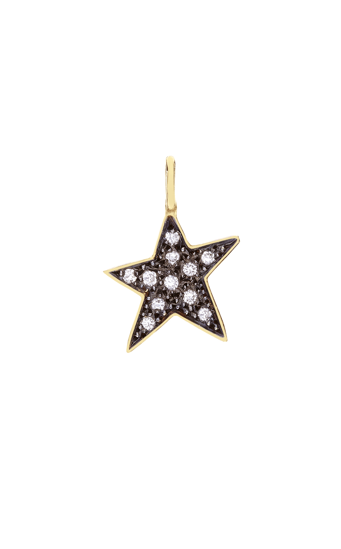 M018 - Star Diamond Pendant