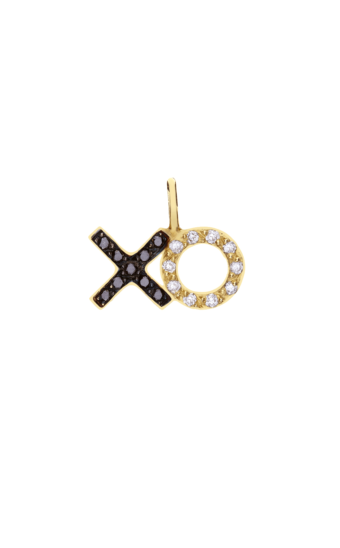 M017 - XO Diamond Pendant