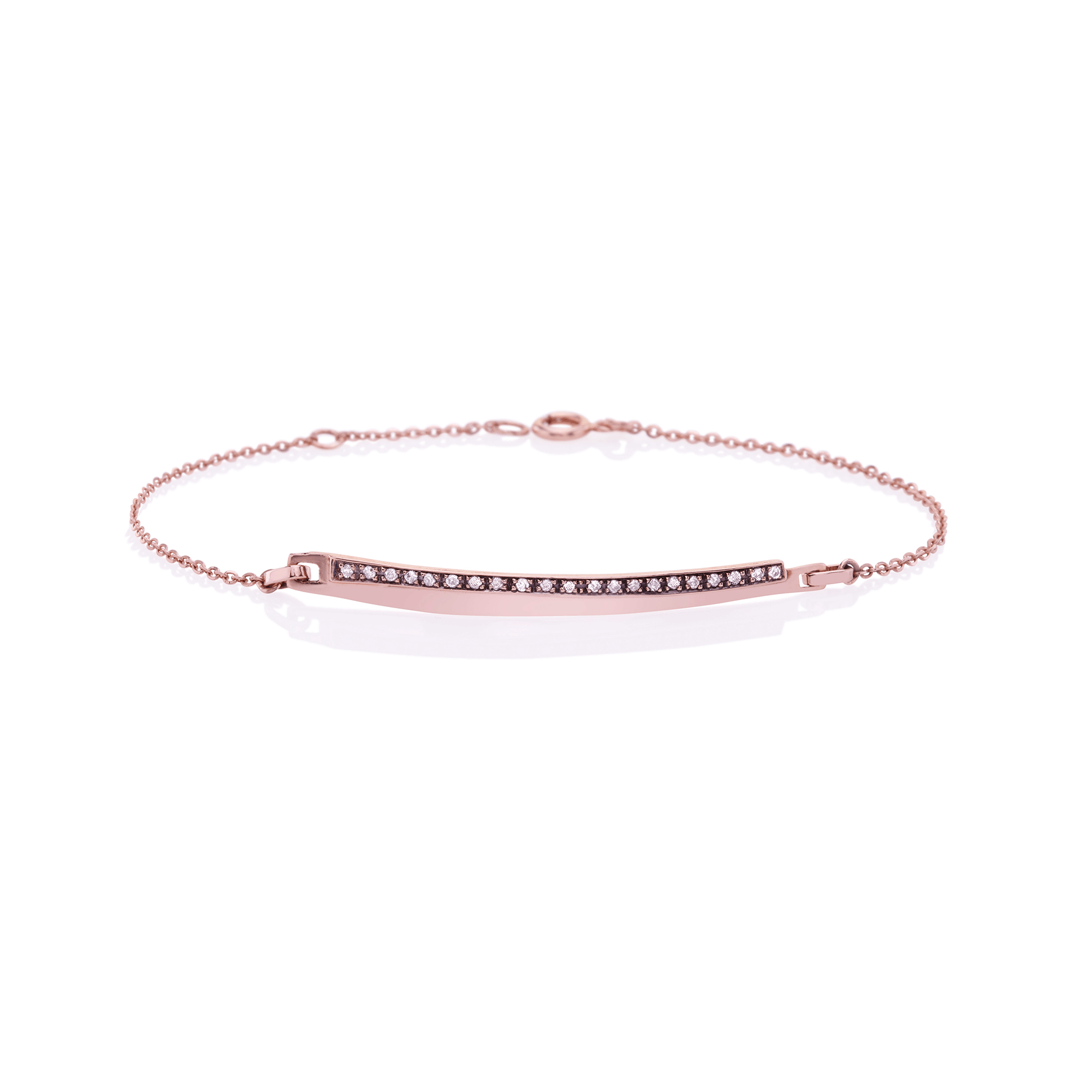 CEB001 - Diamond Bar Bracelet